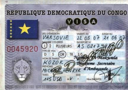 Michael Kozok Travel Africa Democratic Congo Drc